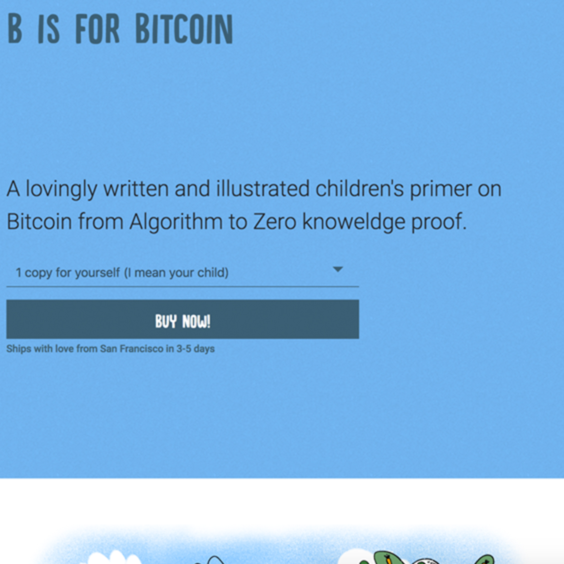 B is for Bitcoin